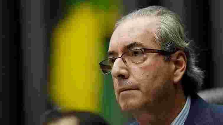 Ініціатора відставки президента Бразилії усунули з посади спікера палати парламенту