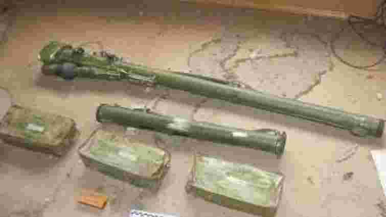 На Луганщині СБУ виявила схованку із зенітно-ракетним комплексом