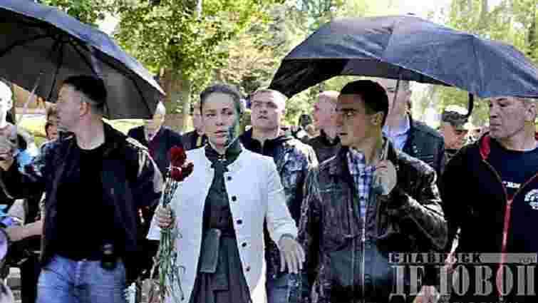 Наталію Королевську облили зеленкою у Слов'янську