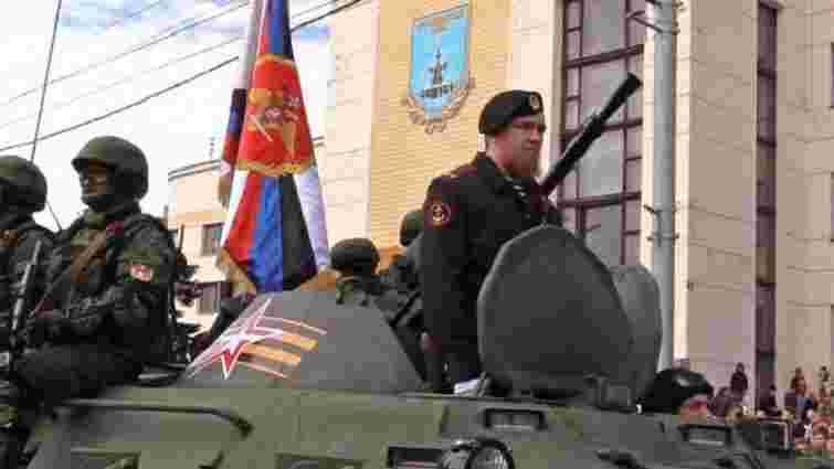 Бойовики у Донецьку і Луганську провели свої «паради» до Дня перемоги