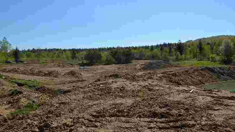 На Івано-Франківщині нафтовидобувне підприємство незаконно вирубало ліс та змінило русло річки
