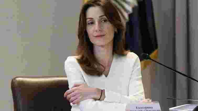 Ека Згуладзе подала у відставку з посади першого заступника міністра внутрішніх справ
