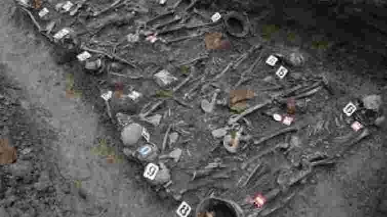 На Золочівщині віднайшли масове поховання вояків Другої світової війни