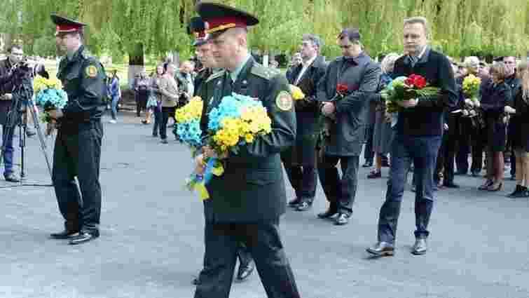 У Львові вшанували пам'ять загиблих військовослужбовців Нацгвардії України