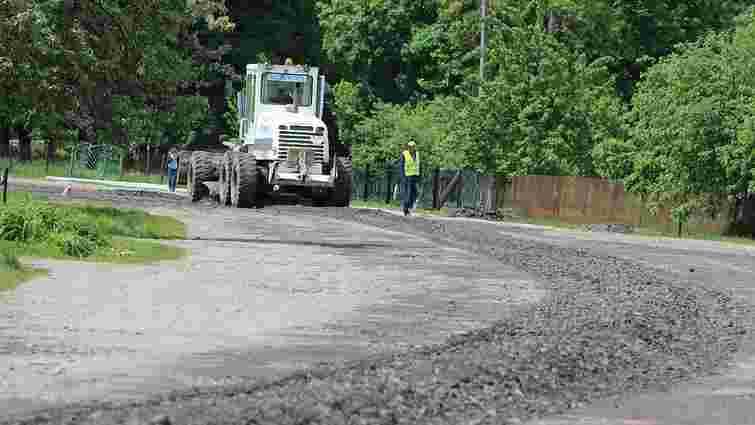 Трасу Радехів-Червоноград відремонтують за новою технологією
