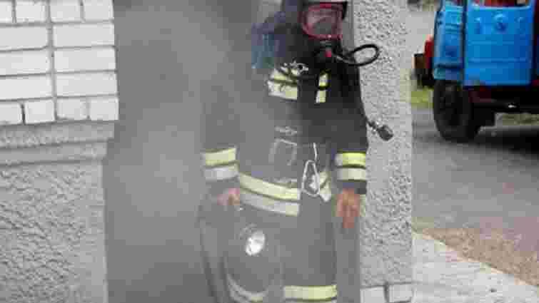 У Львові виникла пожежа у житловому будинку