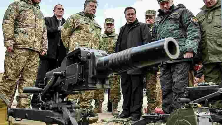 Порошенко оголосив початок реальної перебудови оборони та безпеки для вступу до НАТО
