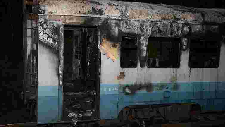 На Вінниччині під час руху загорівся електропотяг