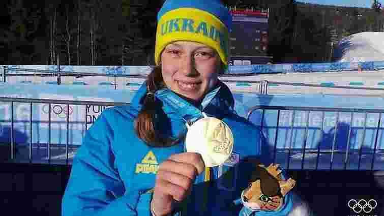 Українська біатлоністка стала найкращою юною спортсменкою Європи