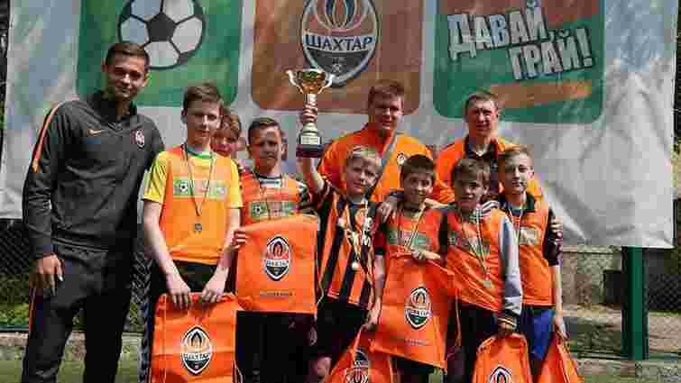 У Львові визначилися переможці дитячого футбольного проекту від ФК «Шахтар»