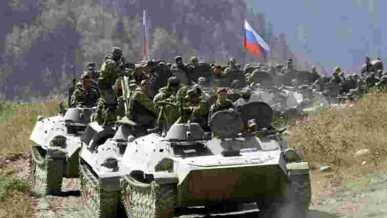 На кордоні з Україною Росія зосередила 34,6 тис. військових