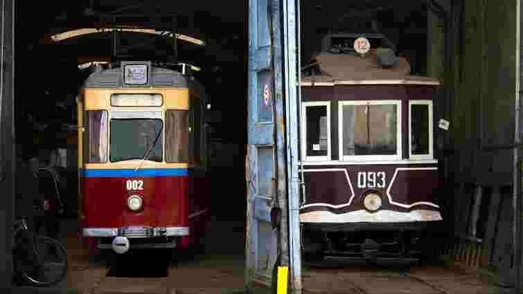 На дні відкритих дверей у депо львів'янам покажуть раритетні трамваї