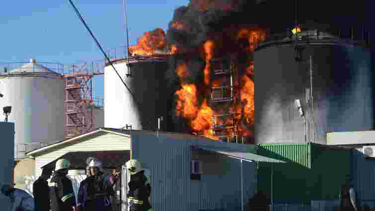 Поліція завершила розслідування пожежі на нафтобазі «БРСМ-Нафта»