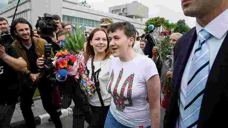 Європейська спільнота привітала звільнення Надії Савченко з російського полону