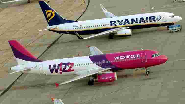 Wizz Air та Ryanair можуть літати до Львова ще цього року