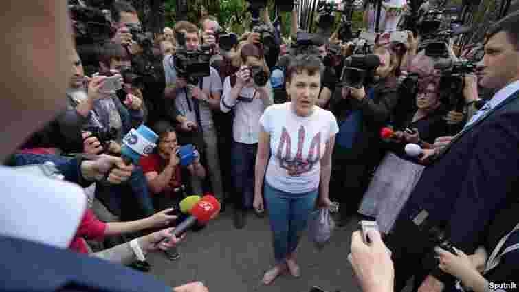 Надія Савченко може стати членом комітету Ради з питань нацбезпеки і оборони
