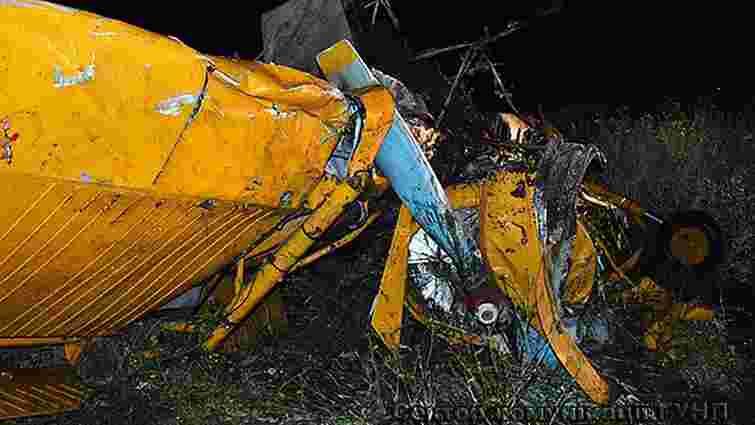 На Волині розбився одномісний літак, пілот загинув