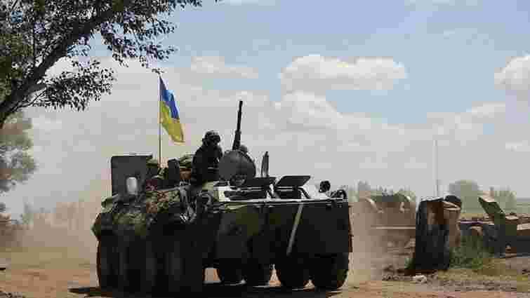 Біля Маріуполя підірвався БТР з українськими військовими