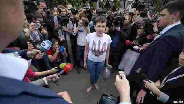 У соцмережах почали з'являтися фейкові акаунти Надії Савченко