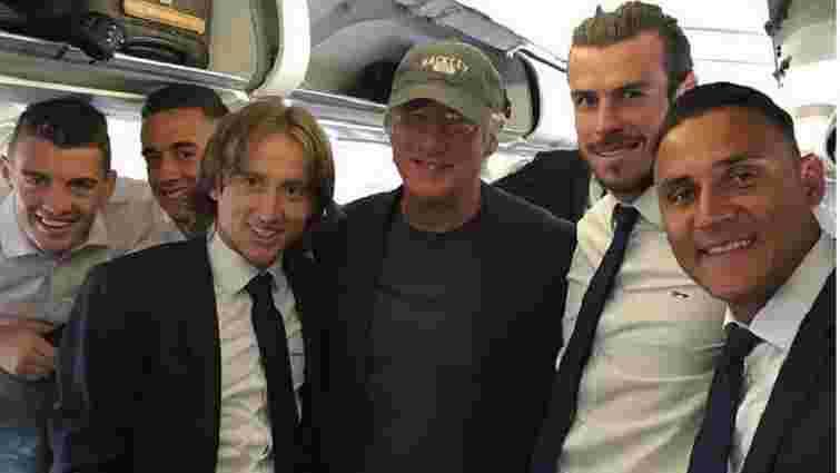 Голлівудський актор Річард Гір вирушив із «Реалом» на фінал Ліги чемпіонів до Мілану