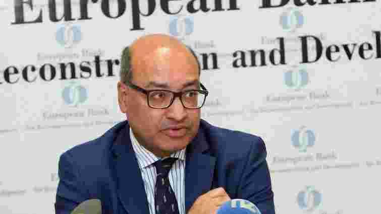 ЄБРР скоротить суму інвестицій в Україну через політичну кризу