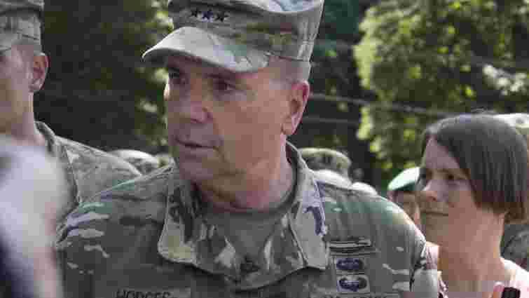 На Яворівському полігоні українських бійців тренують 300 американських солдатів