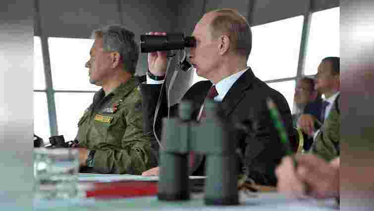 Путін назвав три умови  припинення вогню на Донбасі