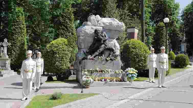 На Личаківському цвинтарі вшанували пам'ять Івана Франка