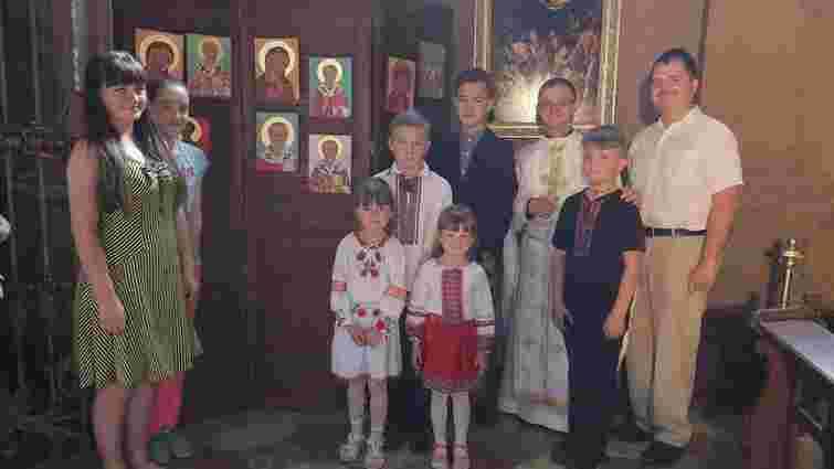 У Гарнізонному храмі відкрили експозицію написаних дітьми  ікон