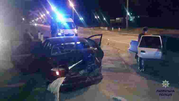 У ДТП у Львові постраждала пасажирка таксі