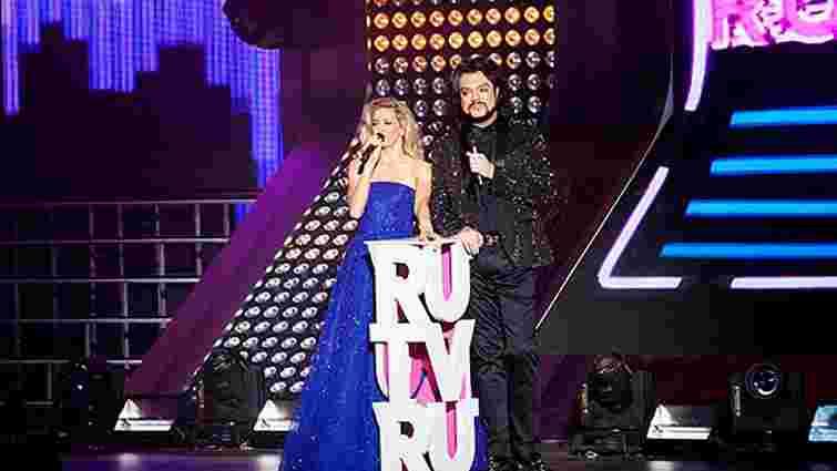 Українські співаки взяли участь у церемонії нагородження RU.TV