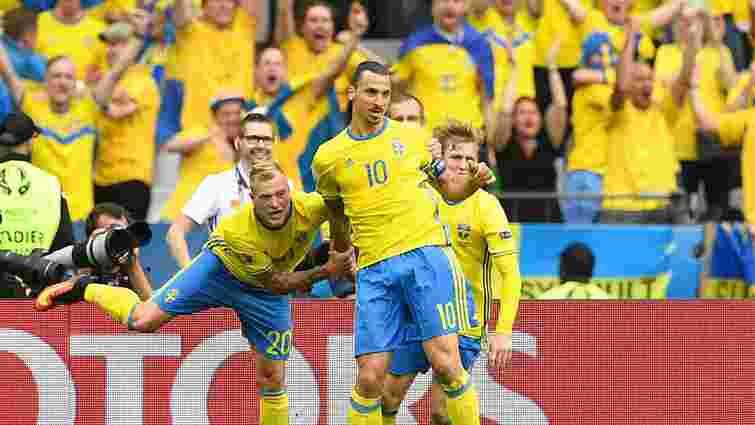 Збірна Швеції зіграла внічию з ірландцями на Євро-2016