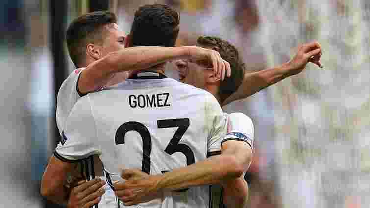 Німеччина розгромила Словаччину і вийшла в 1/4 фіналу Євро-2016