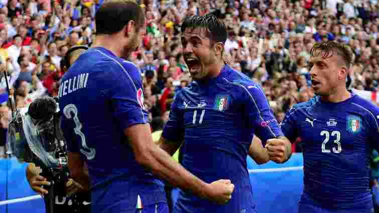 Італія вибила збірну Іспанії з Євро-2016