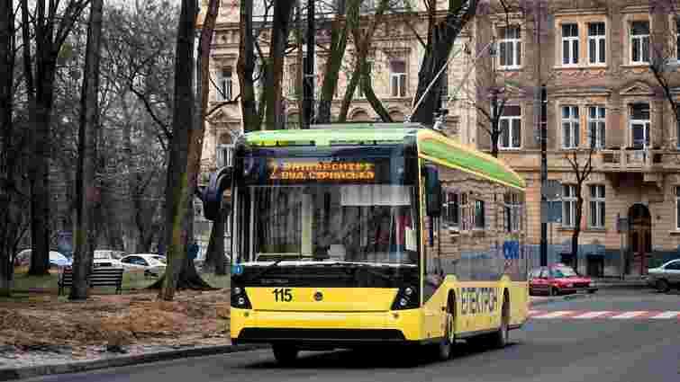 Львів заплатить за п'ять нових тролейбусів «Електрон» на ₴6,65 млн більше