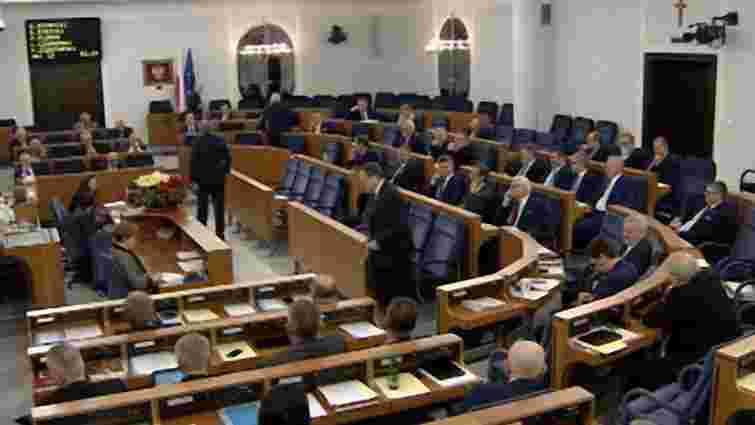 Cенат Польщі закликав Сейм встановити день пам'яті жертв українських націоналістів