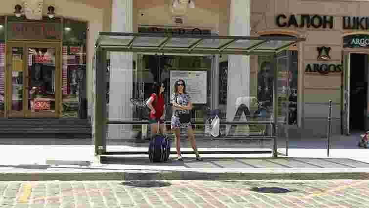У Львові затвердили новий дизайн зупинок громадського транспорту