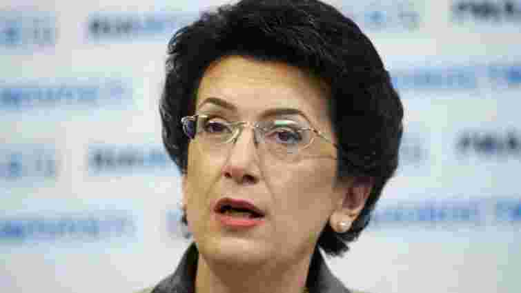 МЗС України оголосило Ніно Бурджанадзе персоною нон ґрата, – ЗМІ