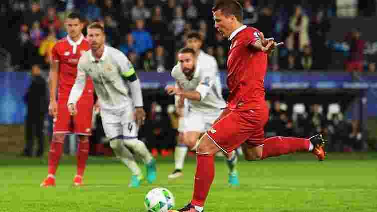 Євген Коноплянка забив «Реалу» у матчі за Суперкубок УЄФА