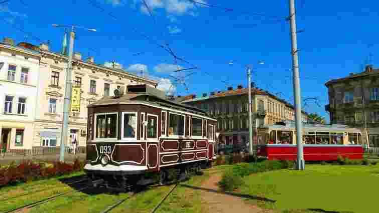 У Львові можна буде покататись найстарішим столітнім трамваєм