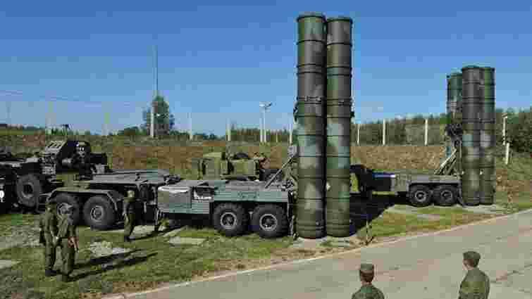 Російські війська в Криму отримали системи «S-400 Triumf»