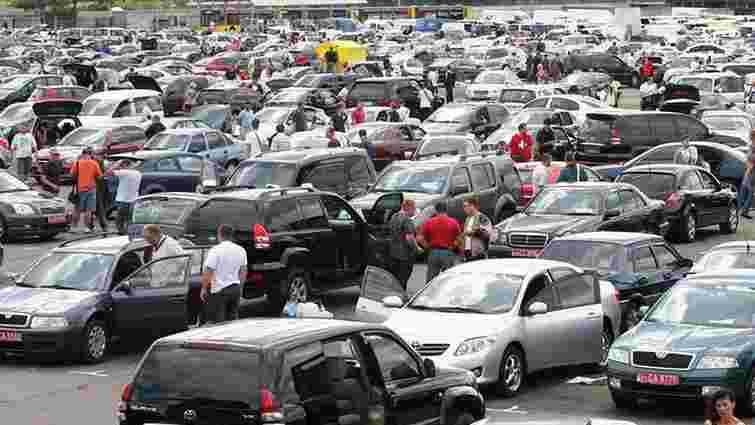 Від 1 серпня в  Україну завезли 600 автомобілів за зниженими акцизами