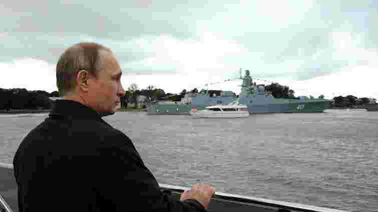 Через приїзд Путіна до Криму МЗС України направило Росії ноту протесту