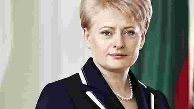 Президент Литви привітала Україну з Днем Незалежності