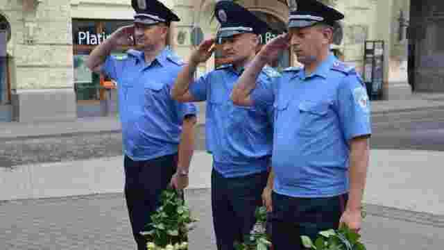 У Львові вшанували загиблих правоохоронців