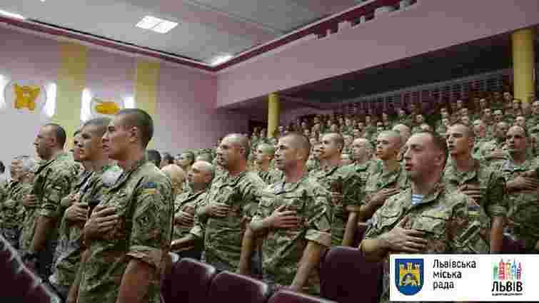 Військовослужбовці Львівського гарнізону отримали нагороди від міського голови