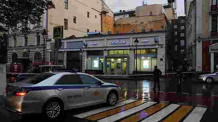 У Москві невідомий захопив відділення банку