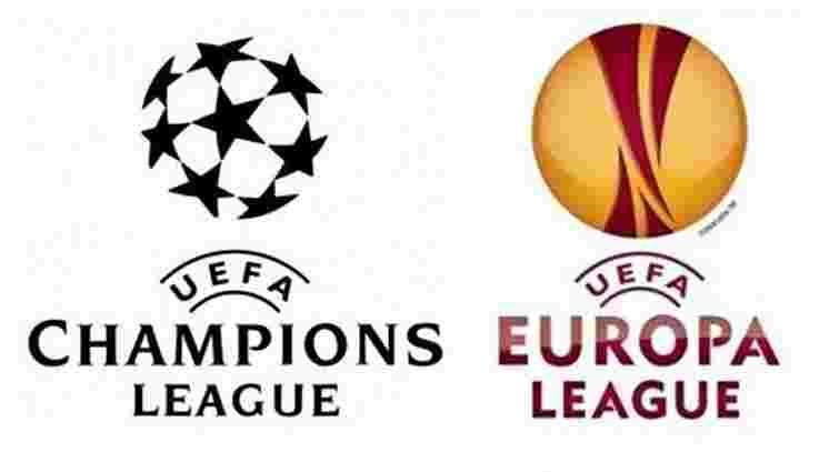 Календар і дати матчів українських клубів у Лізі Чемпіонів та Лізі Європи