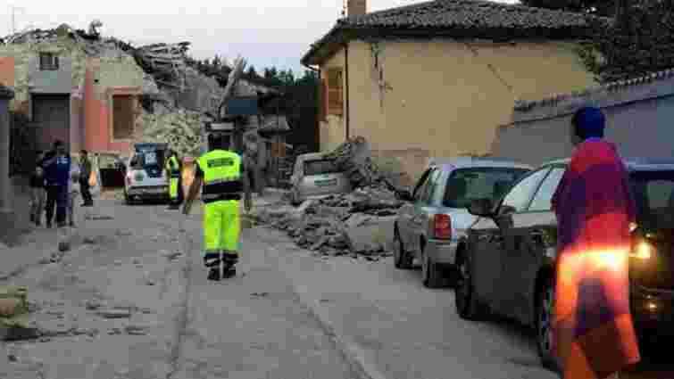 Внаслідок землетрусу в Італії загинуло щонайменше 16 іноземців