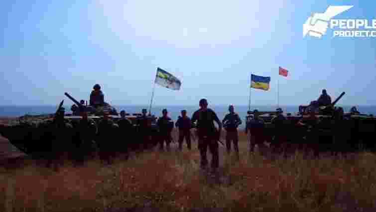 Українські морпіхи запросили терориста Гіві та його бойовиків «удобрити маріупольські землі»